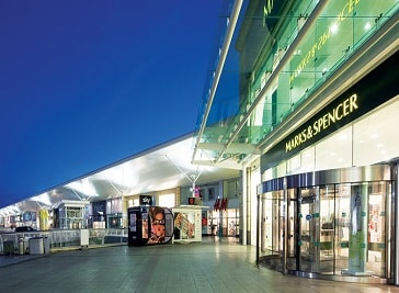 Castlepoint Shopping Centre in Bournemouth