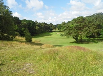 Queens Park Golf Course in Bournemouth