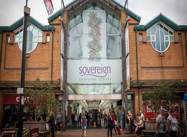 Sovereign Shopping Centre in Bournemouth