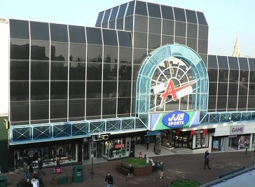 The Avenue Shopping Centre in Bournemouth